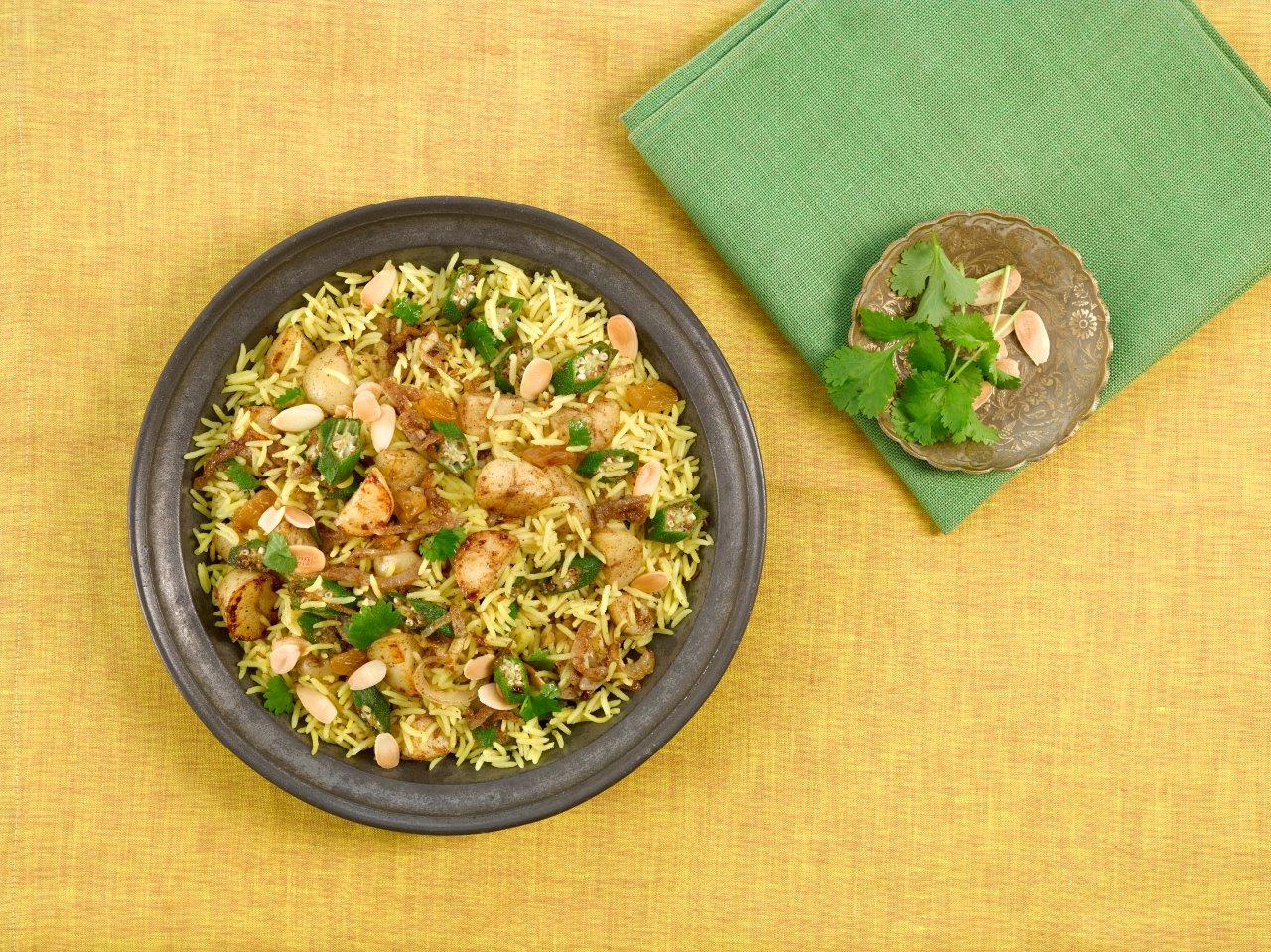 Baked Vegetable Biryani