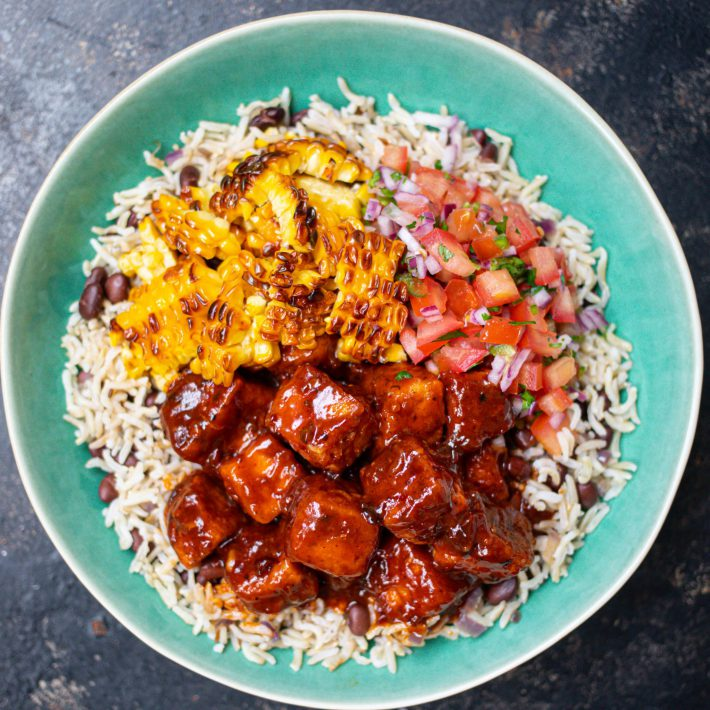 Chipotle Tofu Rice Bowl