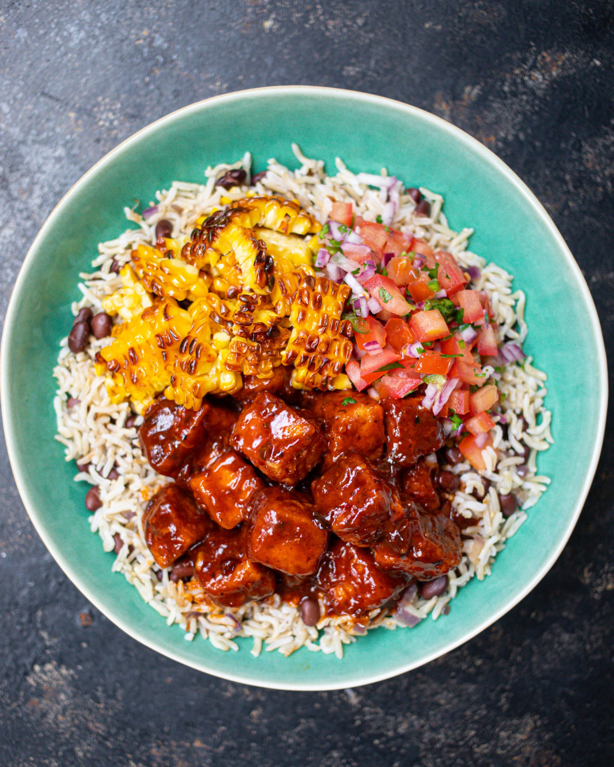 Chipotle Tofu Rice Bowl