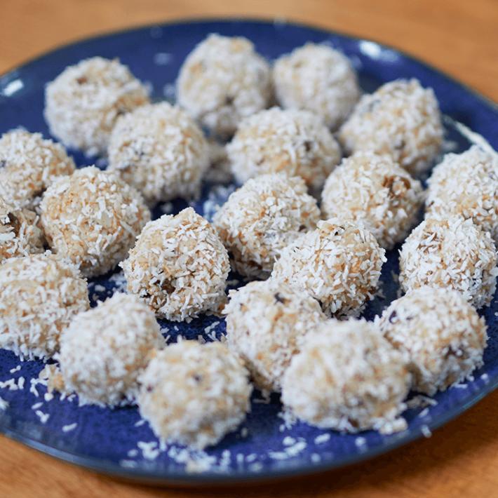 Wholegrain Rice Energy Balls