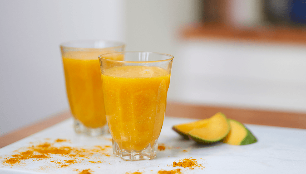 Tropical Ginger & Turmeric Smoothie