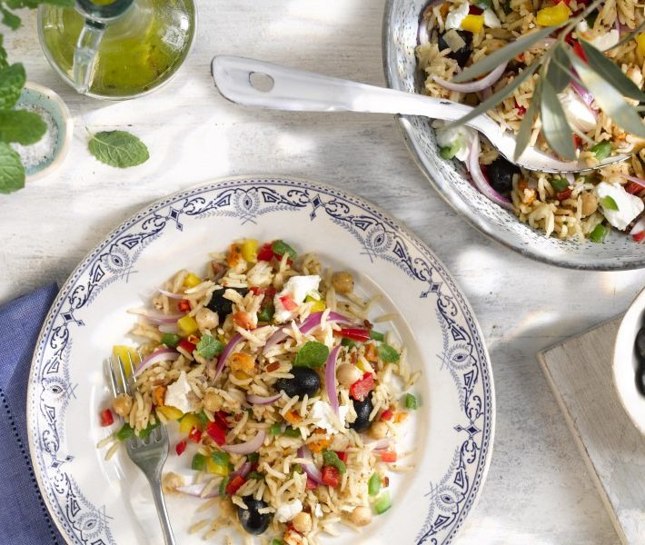 Feta & Olive Rice Salad