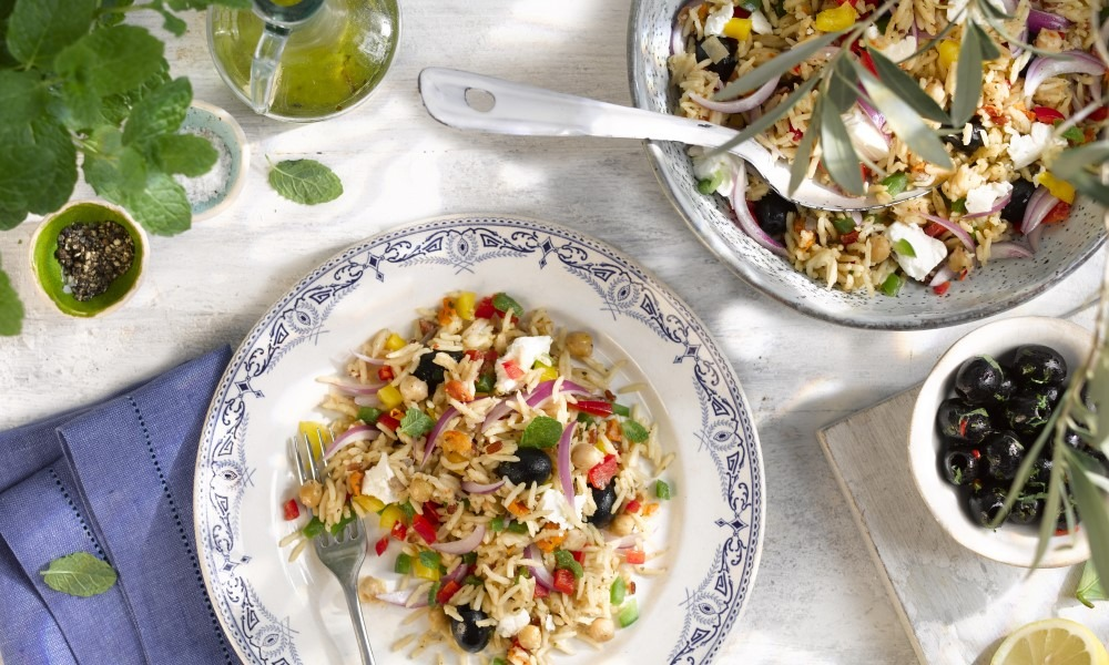 Feta & Olive Rice Salad
