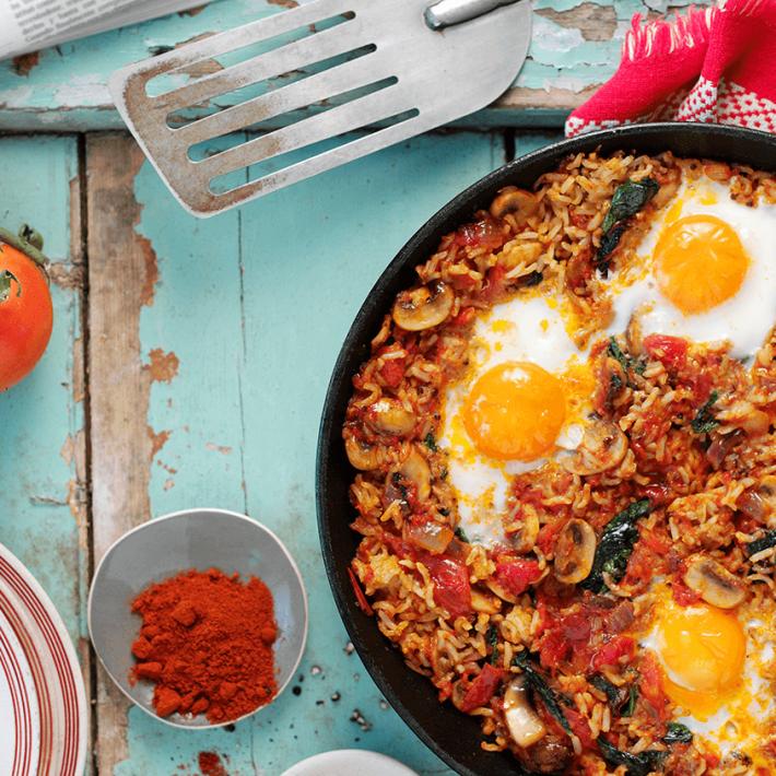 Spicy Tomato & Egg Brunch