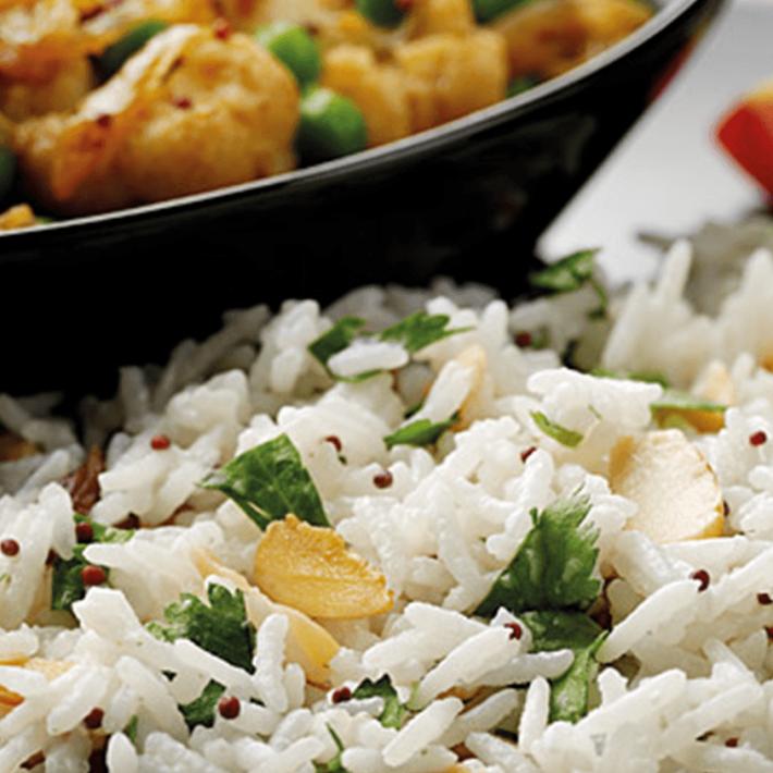 Spicy Cauliflower with Coconut Rice