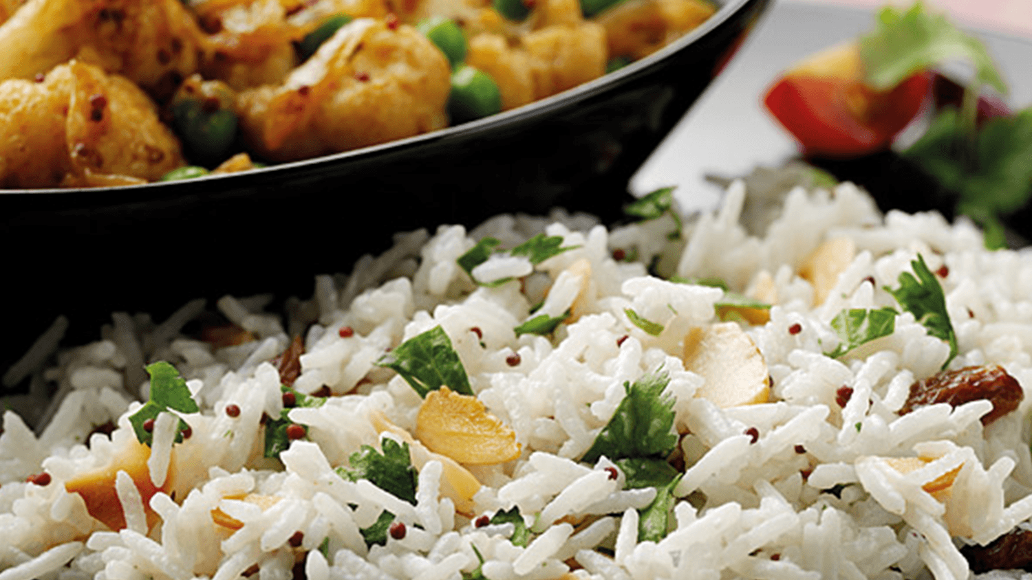 Spicy Cauliflower with Coconut Rice