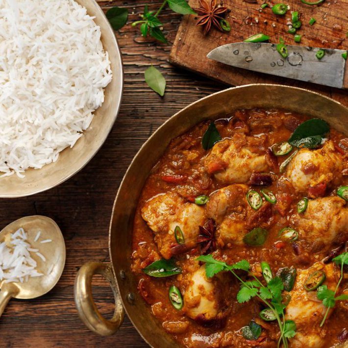 Perfect Chicken Curry