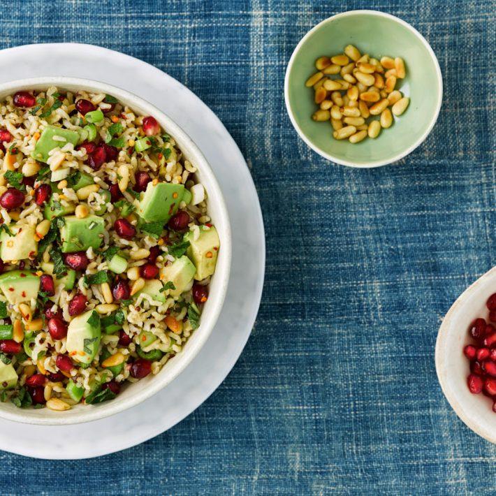 Mixed Grain and Avocado Salad
