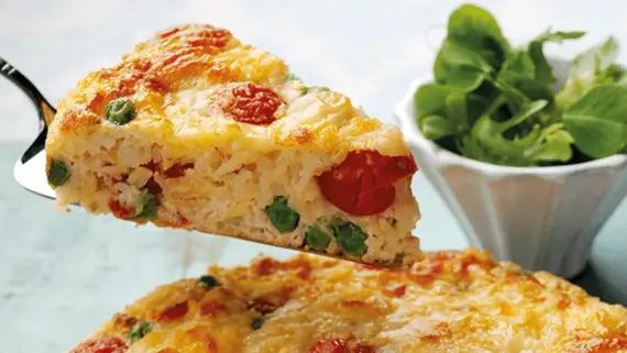 Leftover Omelette Bake