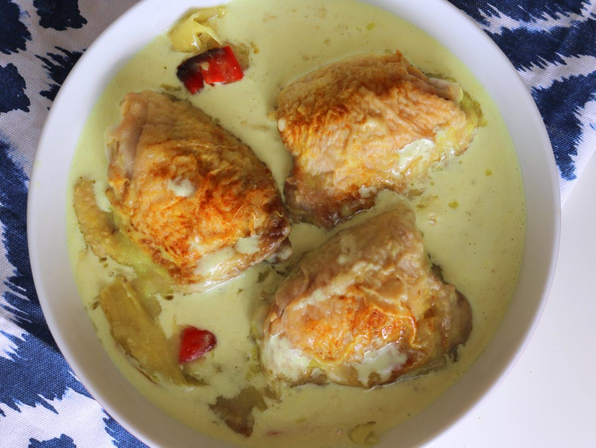 Leek & Turmeric Chicken Bake