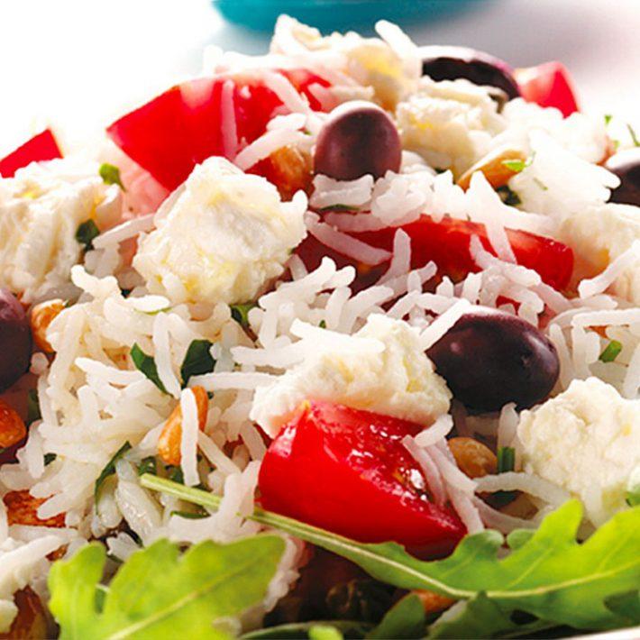 Lebanese Warm Rice Salad