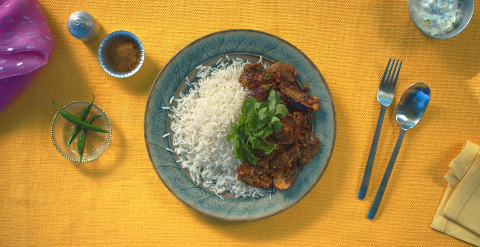 Lamb & Aubergine Curry