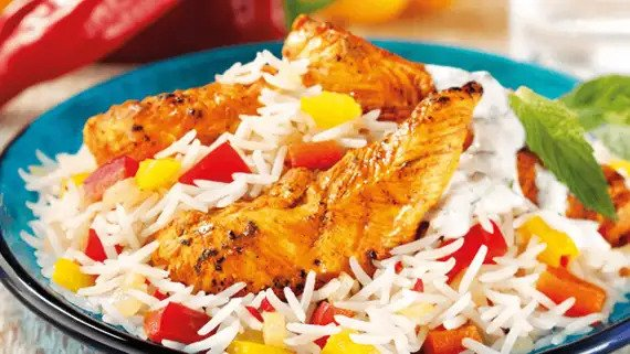 Indian Style Rice and Chicken