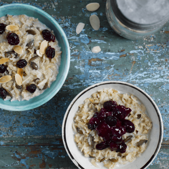 Cranberry and Pumpkin Seed Porridge
