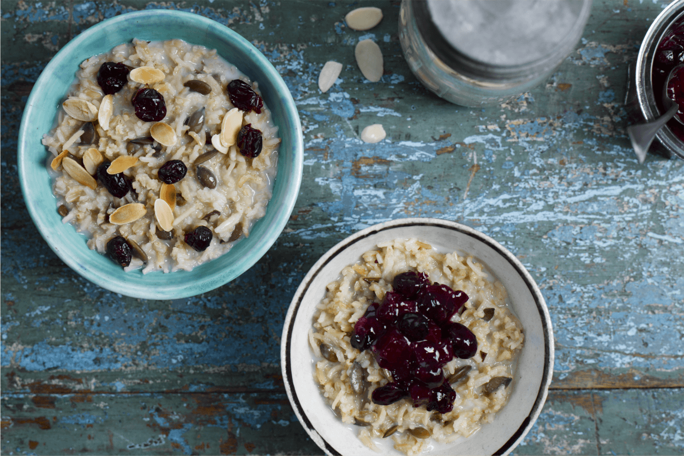 Cranberry and Pumpkin Seed Porridge