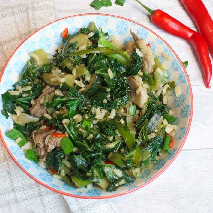 Super Greens Stir Fry