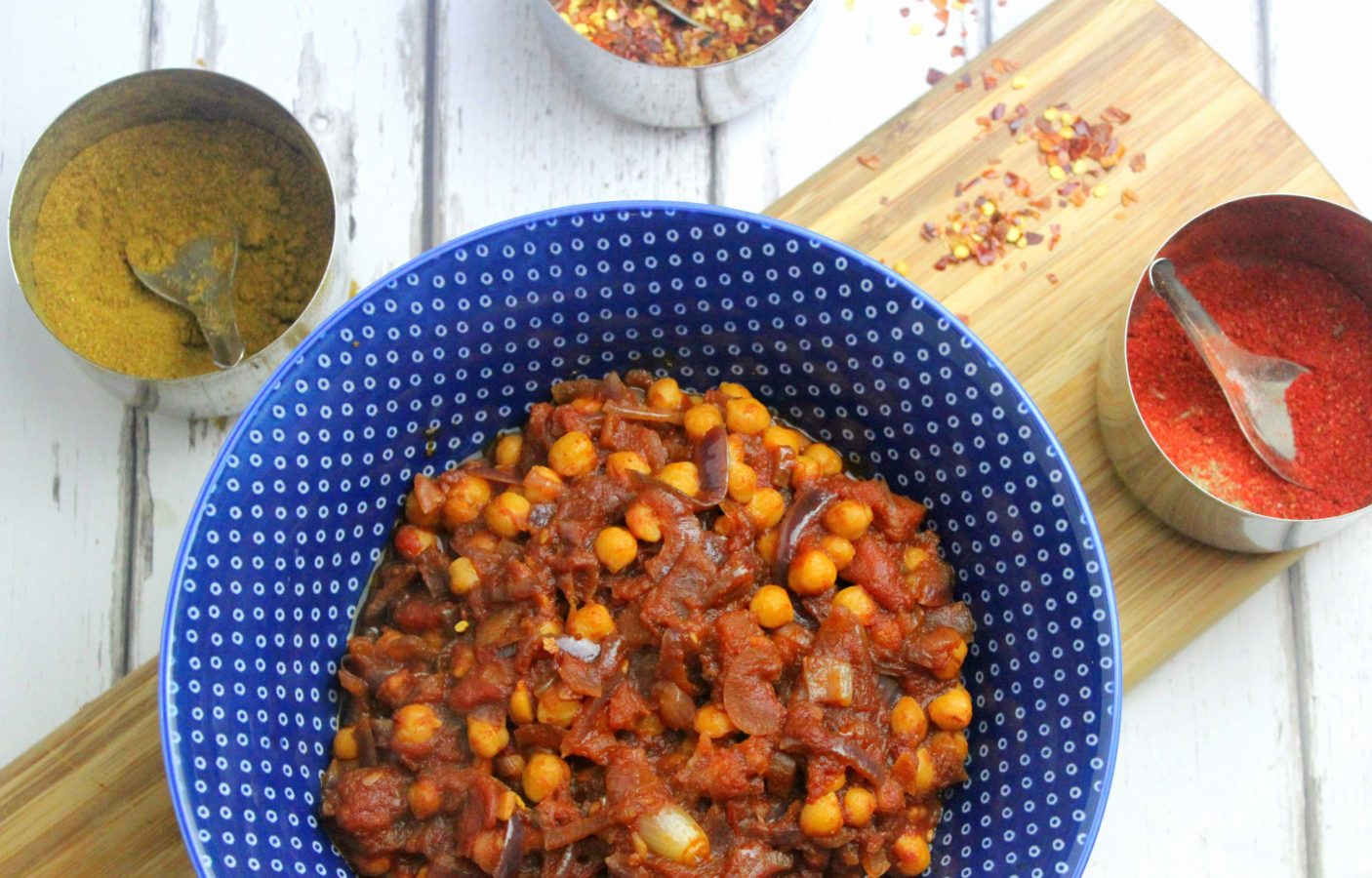 Spiced Chickpea Curry