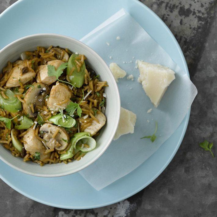 Chicken & Mushroom Risotto