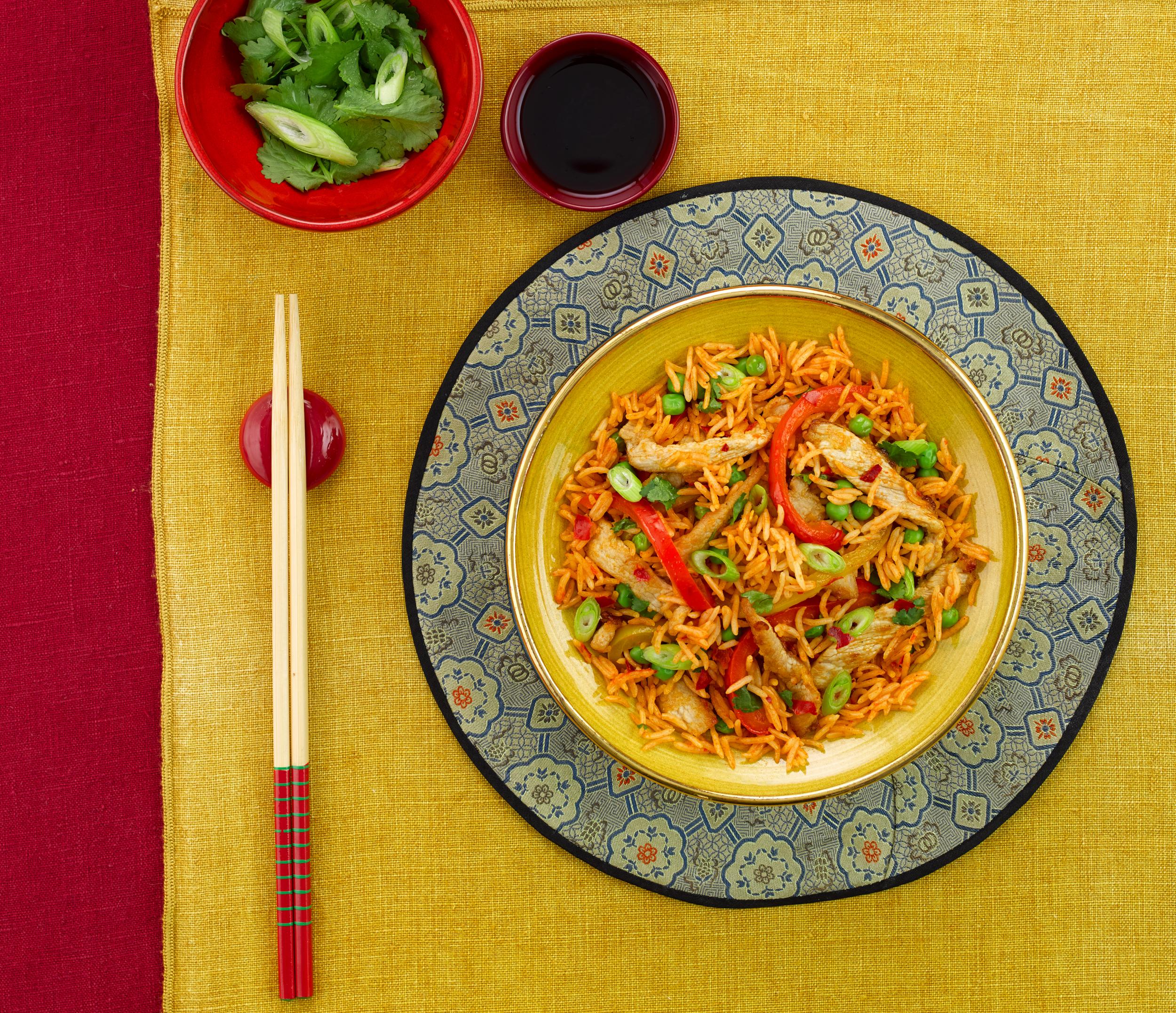 Chinese Pork & Pepper Stir-fry