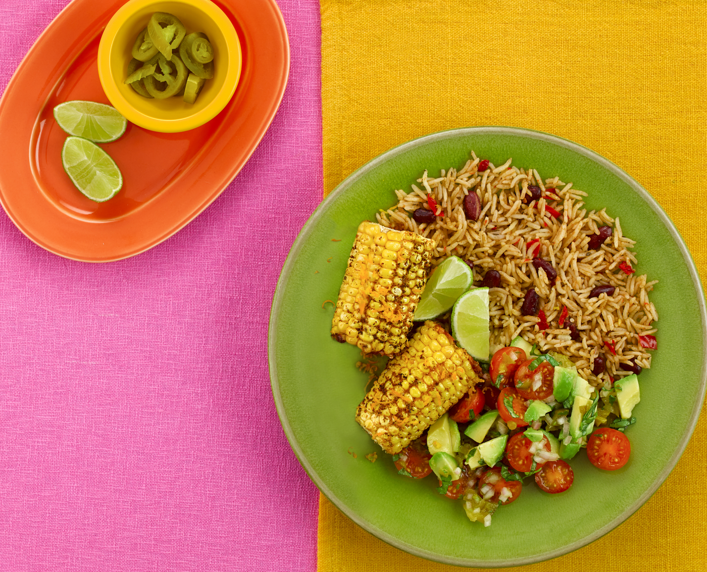 Grilled Corn with Citrus Salsa