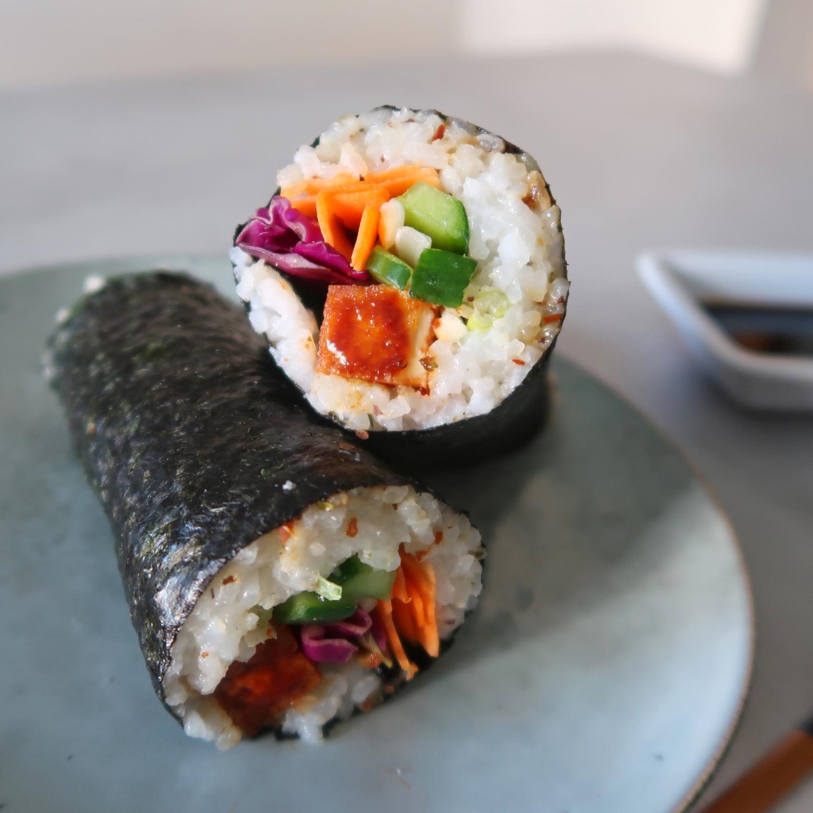 Sushi Rice Burrito