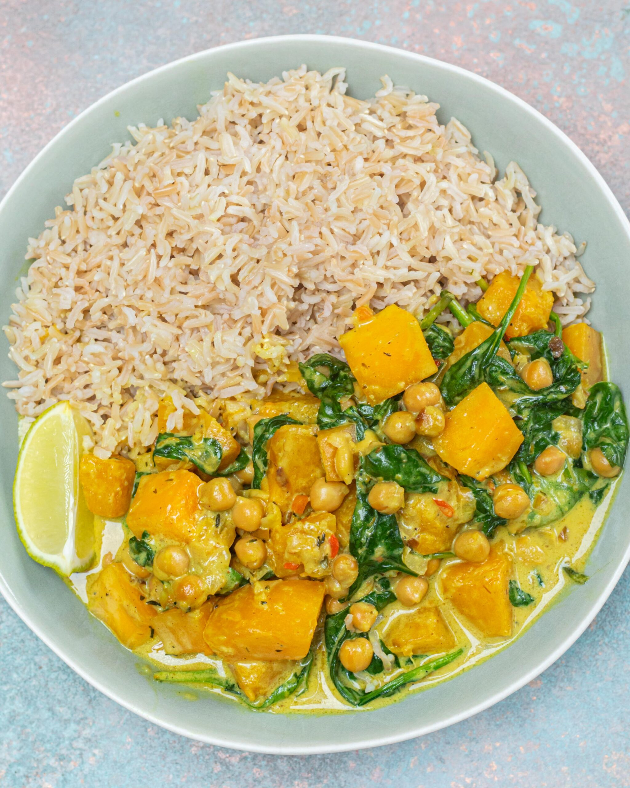 Chickpea and Squash Curry