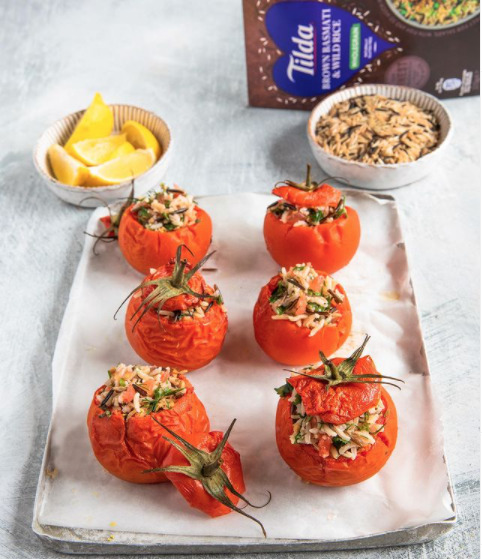 Herby Stuffed Tomatoes