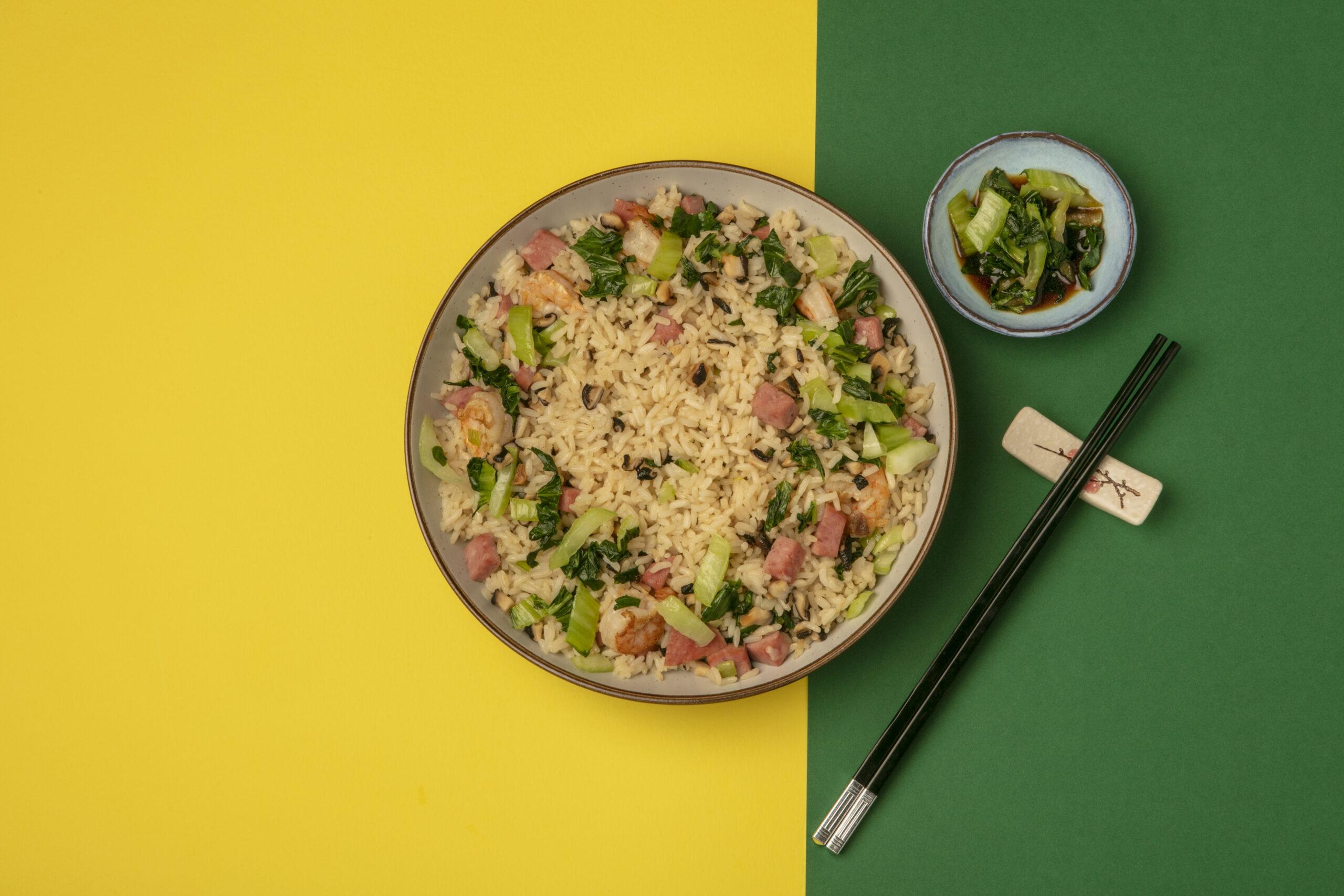 Shanghai Style Stir Fried Rice