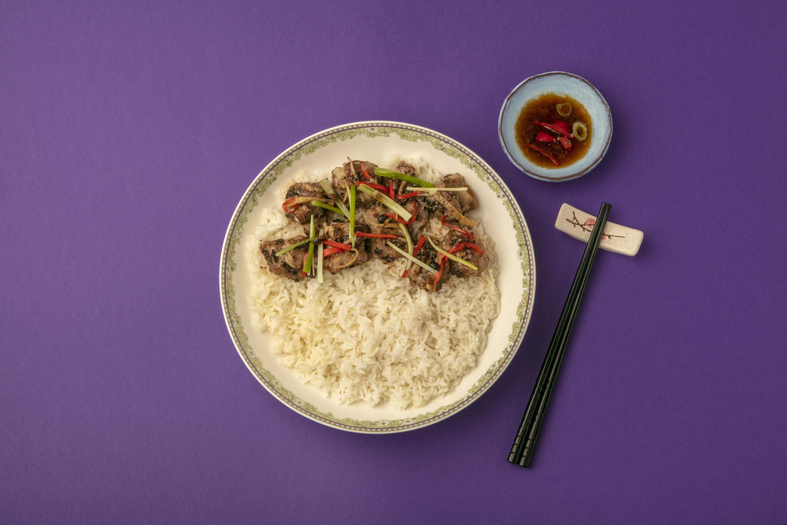 Spare Rib Steam Rice