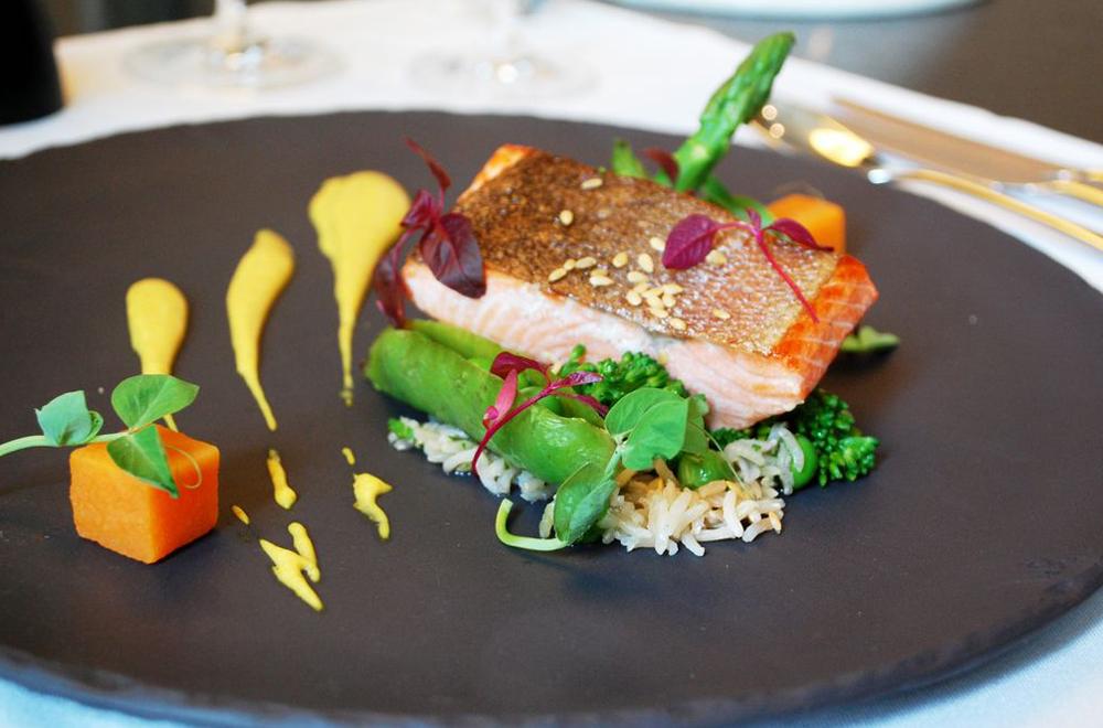 Wholegrain Basmati Super Food Salad with Sea Trout