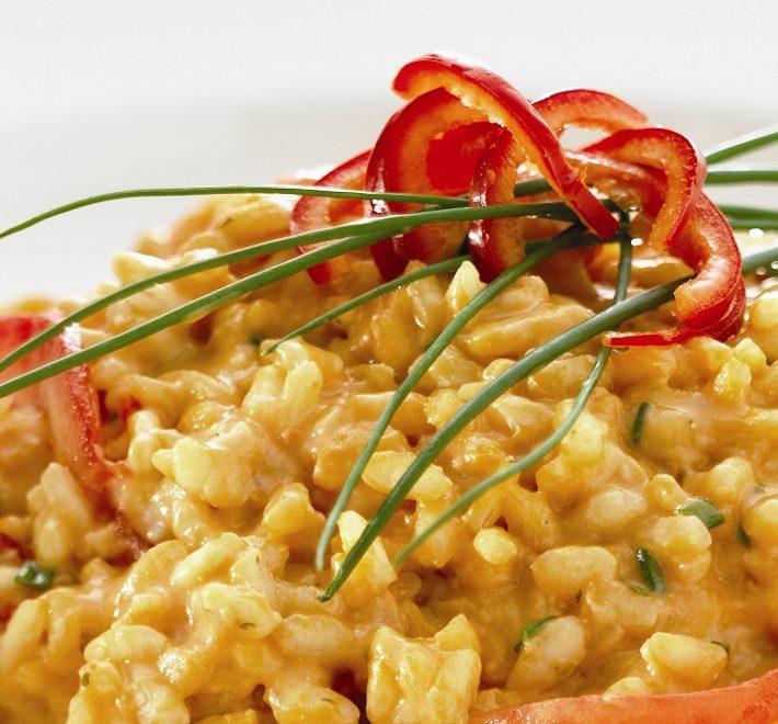 Tomato and Chilli Risotto