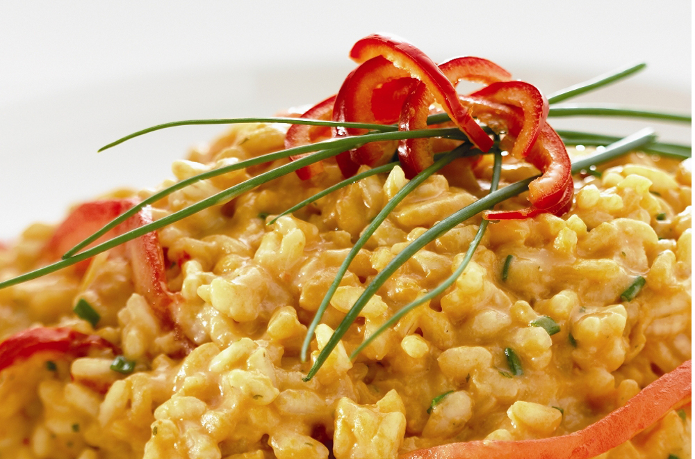 Tomato and Chilli Risotto