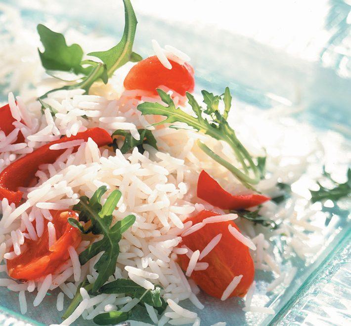 Basmati with Rocket & Sun Blush Tomatoes