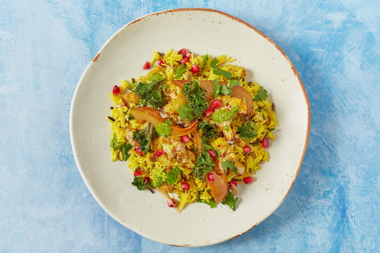 Basmati and Wild Rice Salad
