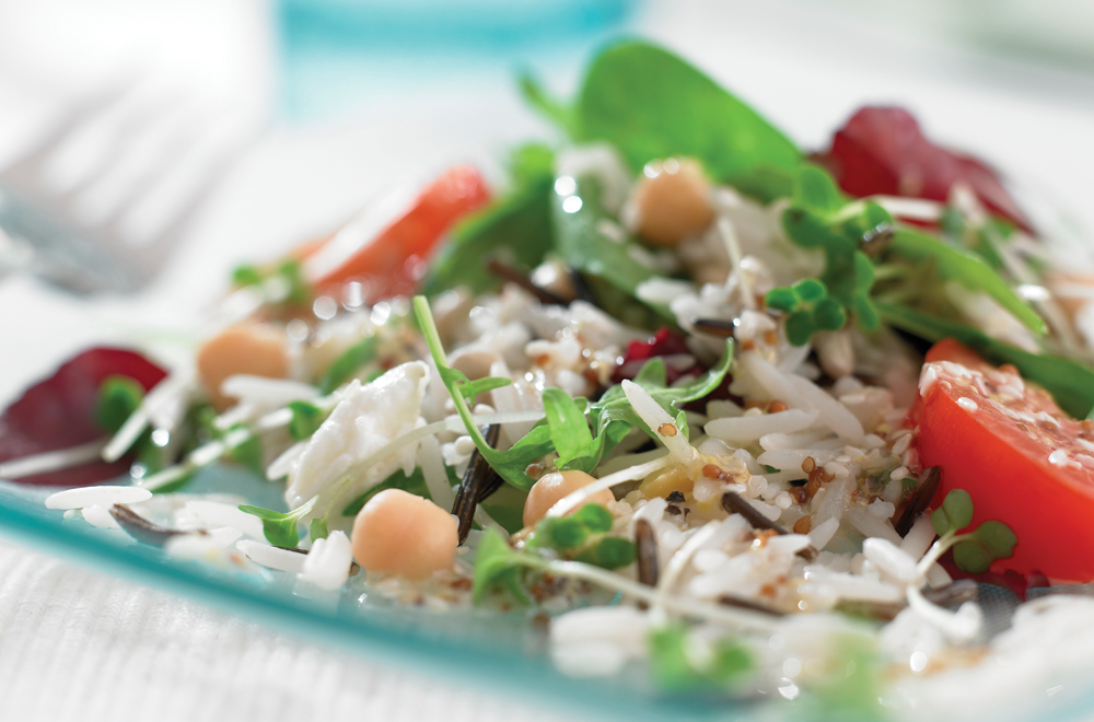 Basmati & Wild Sunshine Salad