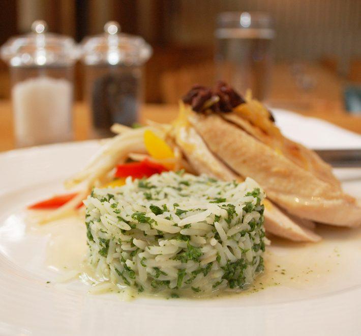Braised Chicken Breast with Lemon Grass & Star Anise