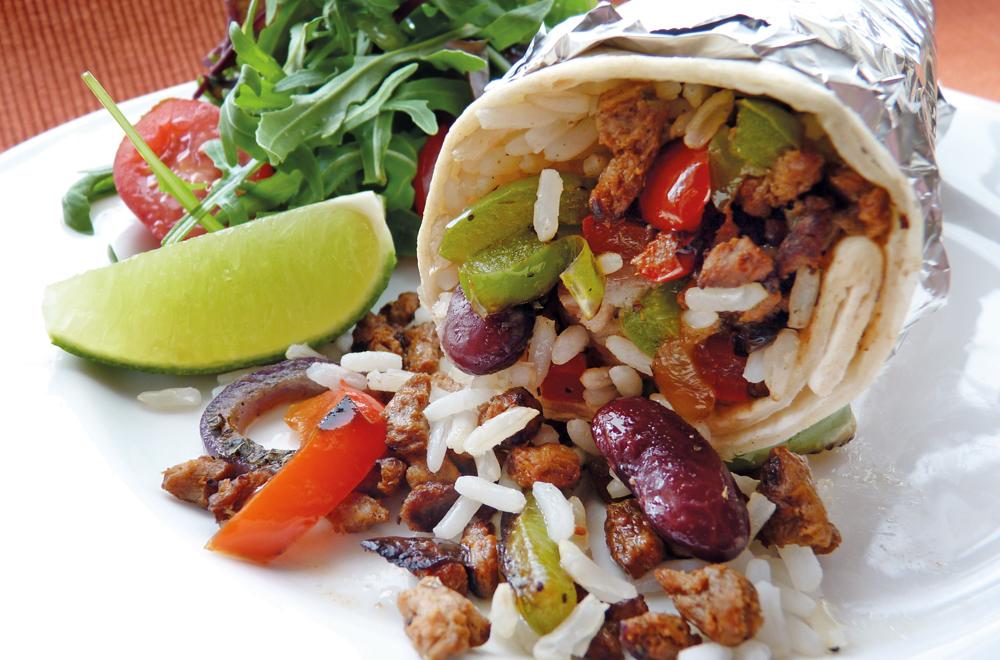 Spicy Vegemince™ Burritos