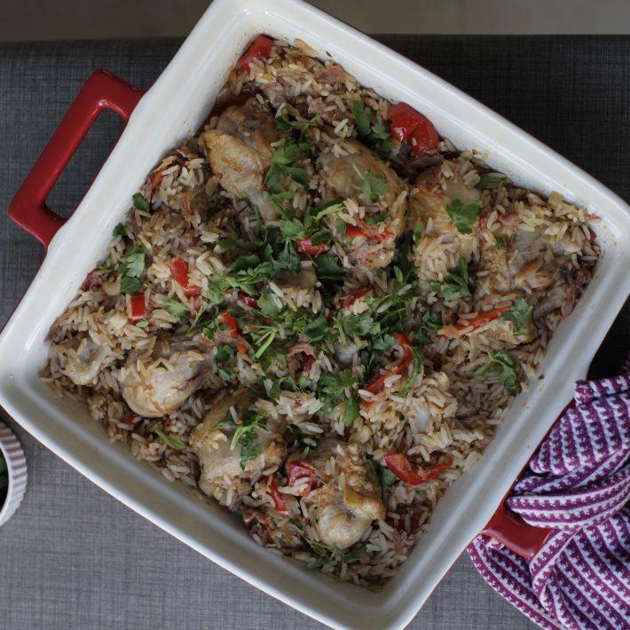 Chicken with Spanish Rice