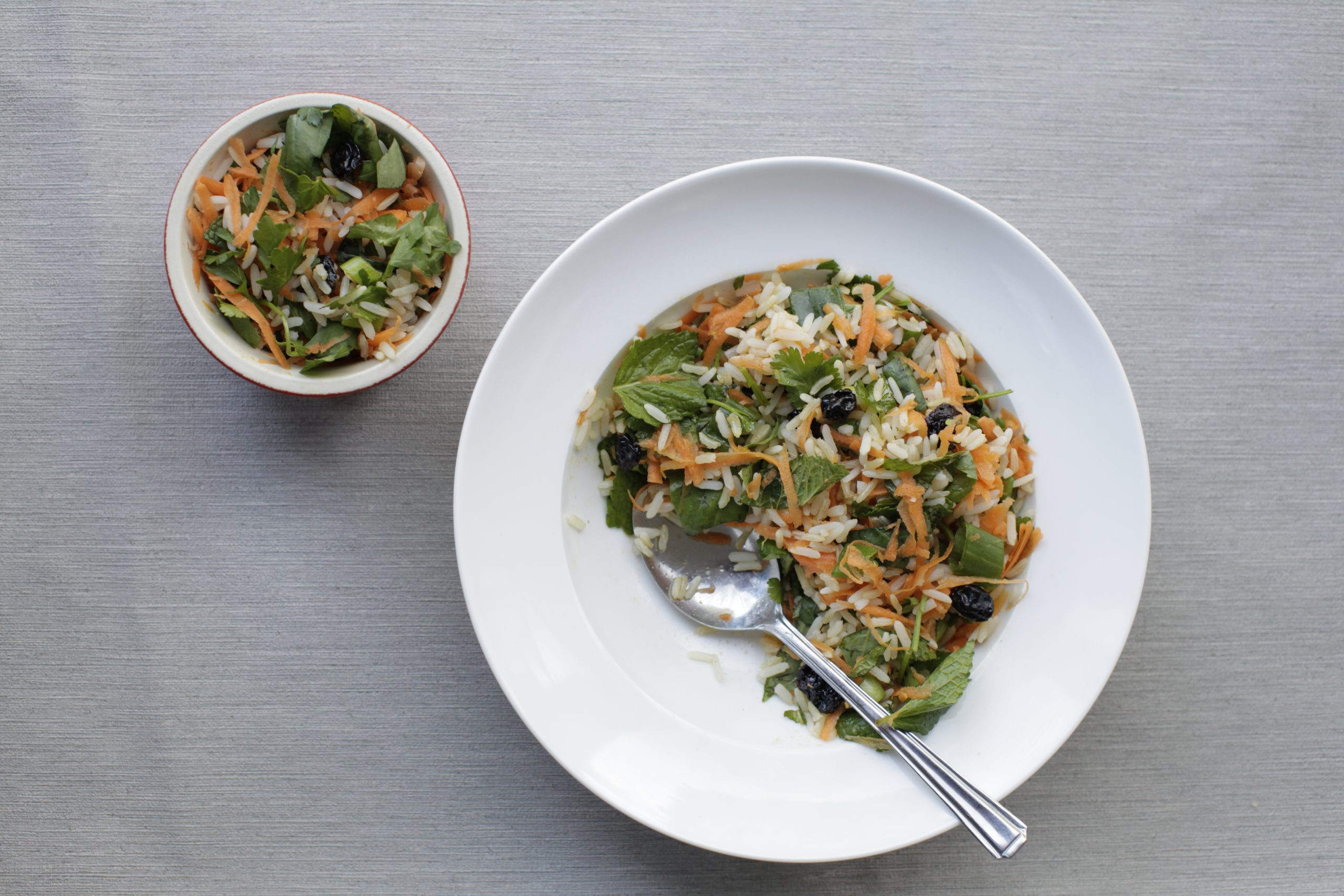 Herby Rice Salad