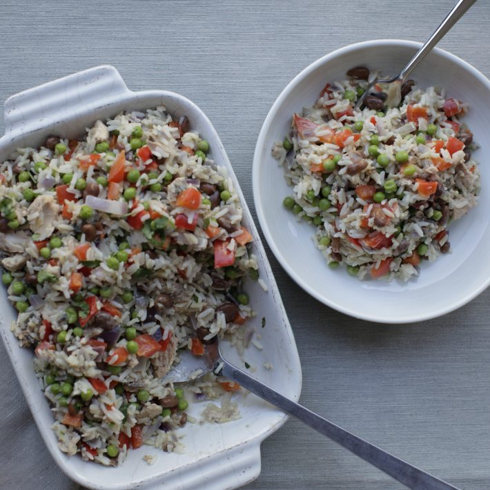 Salmon & Coconut Rice