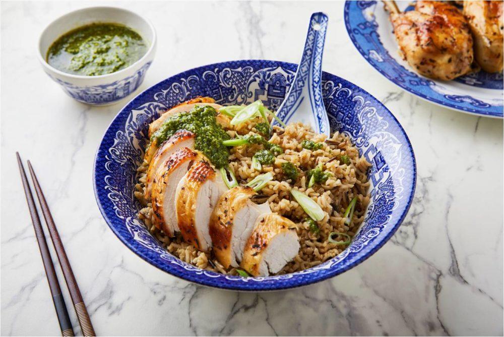 Garlic, Coriander & White Pepper Roast Chicken