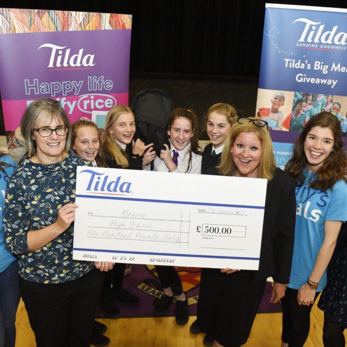 Kinross High School Wins Tilda Together