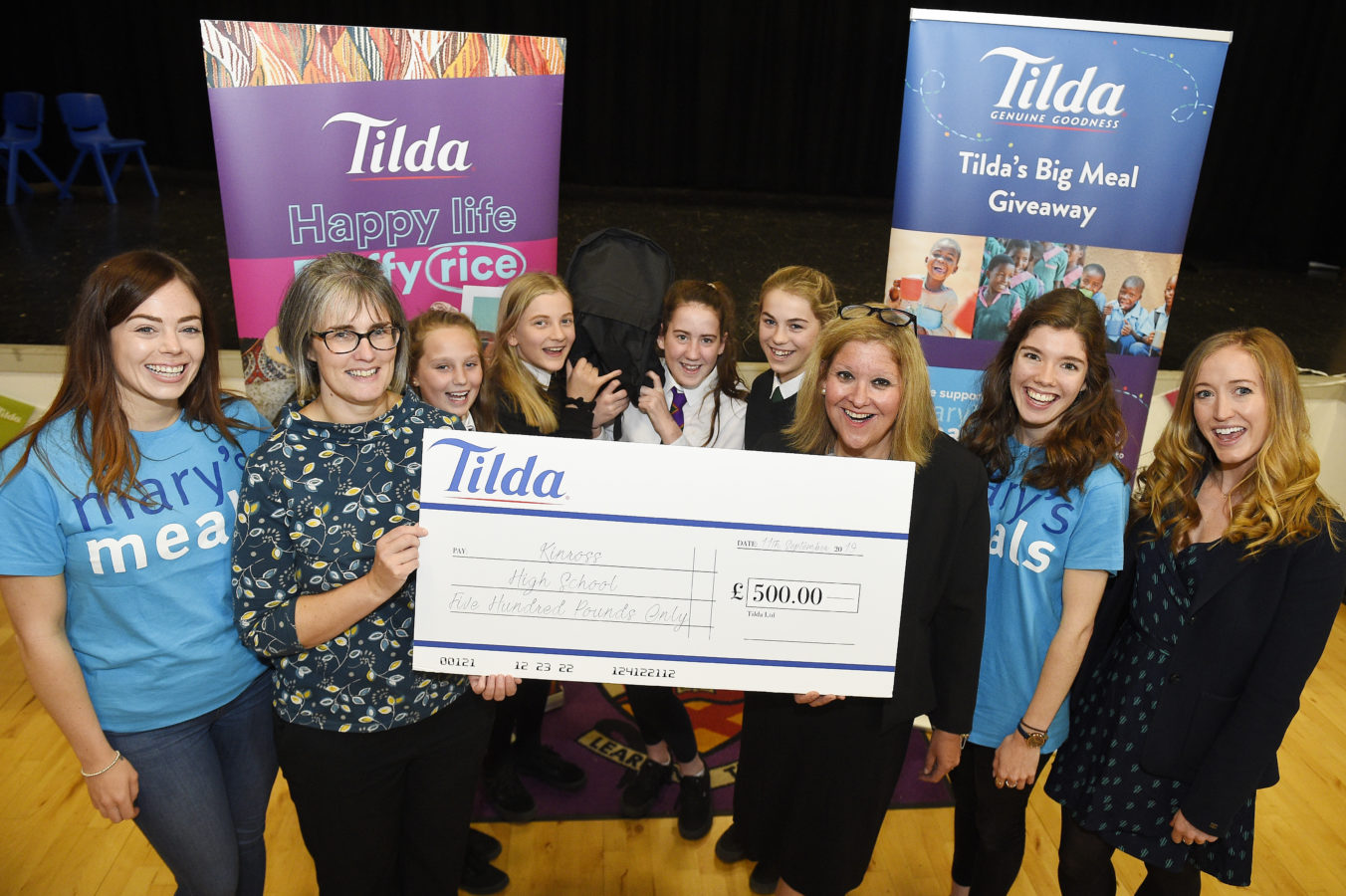 Kinross High School Wins Tilda Together