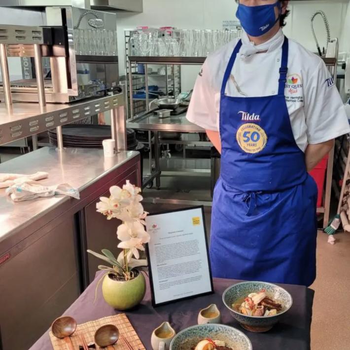 Sheffield College Student Triumphs at Zest Quest Asia – Tilda Challenge 2021!