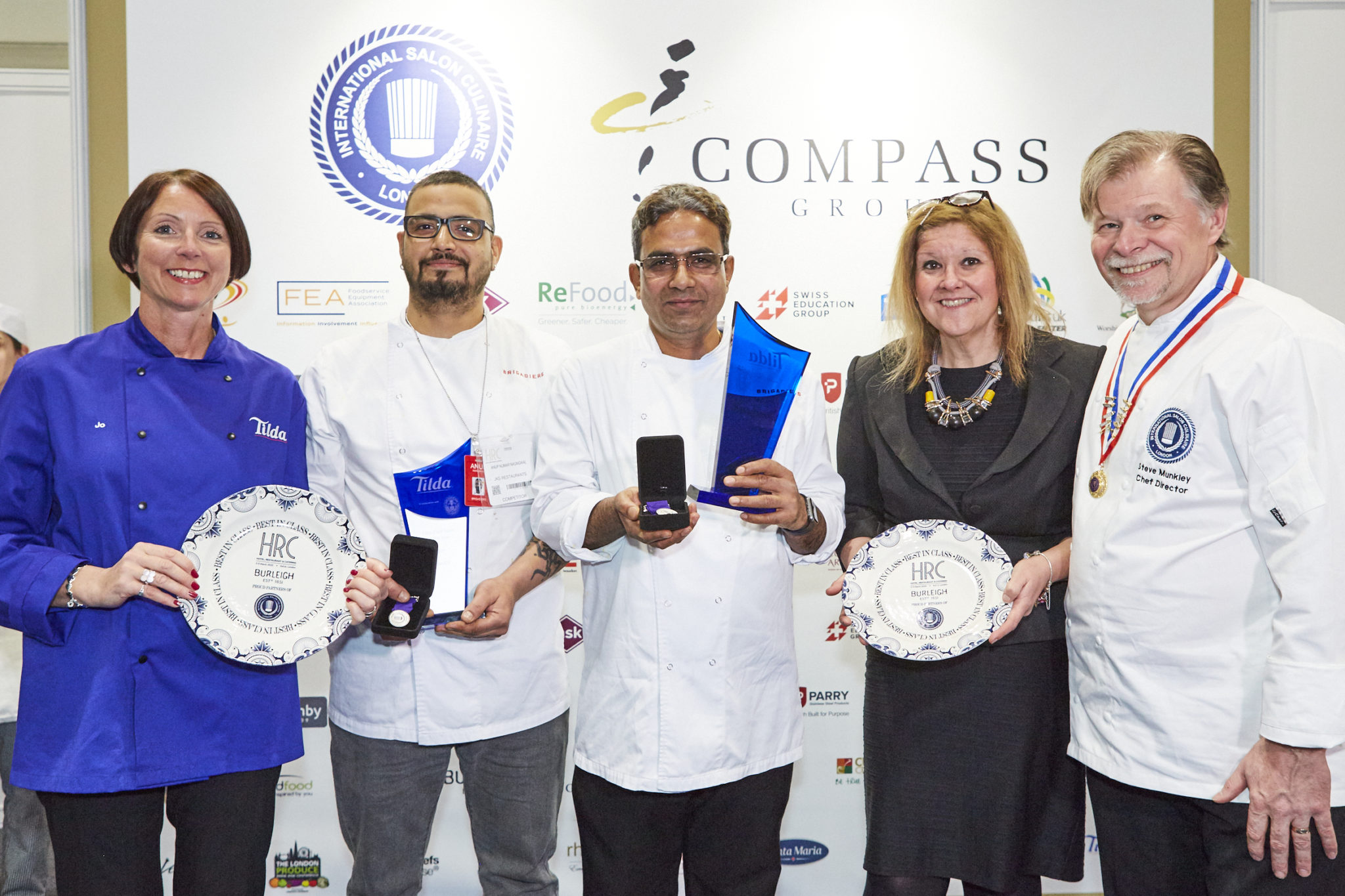 Talented Duo Wow Judges at Tilda Chef Team of the Year 2020