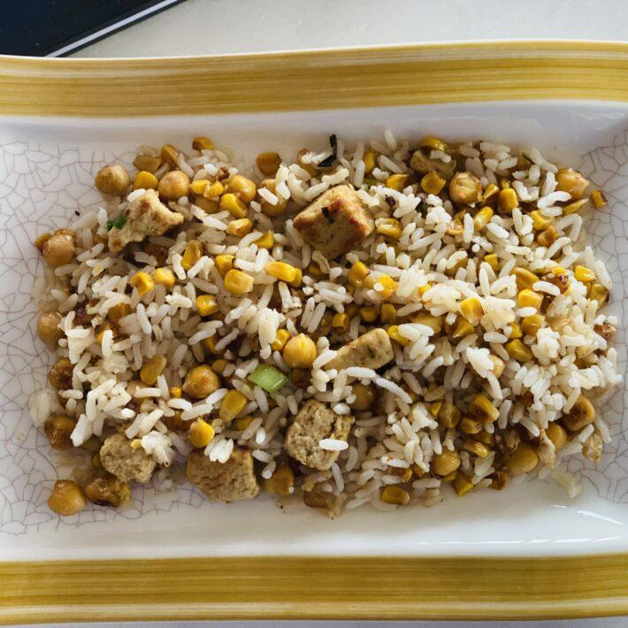 Shockingly Scary Sweetcorn & Rice