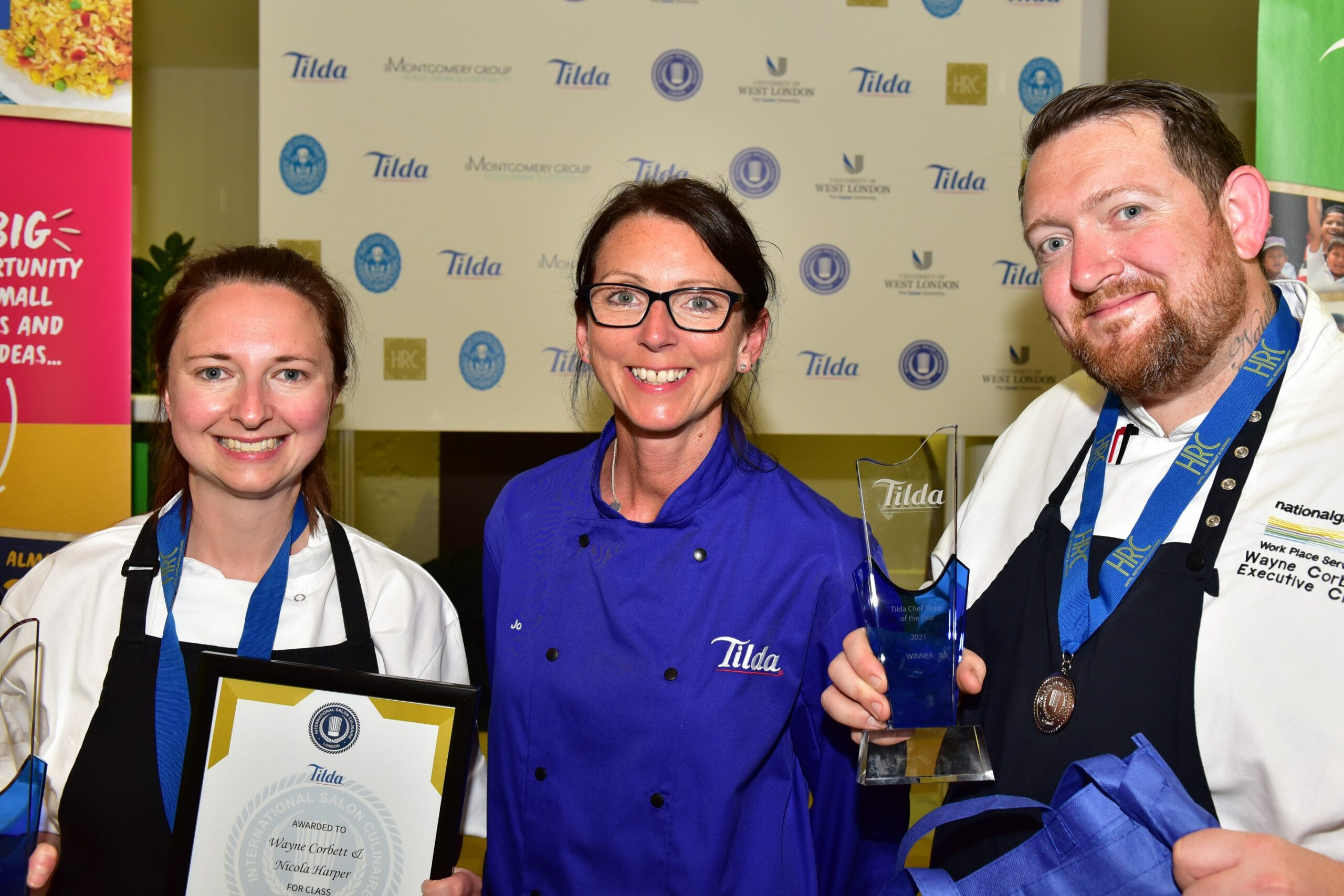 Compass Group UK & Ireland Chefs Take Home Tilda Chef Team of the Year Award