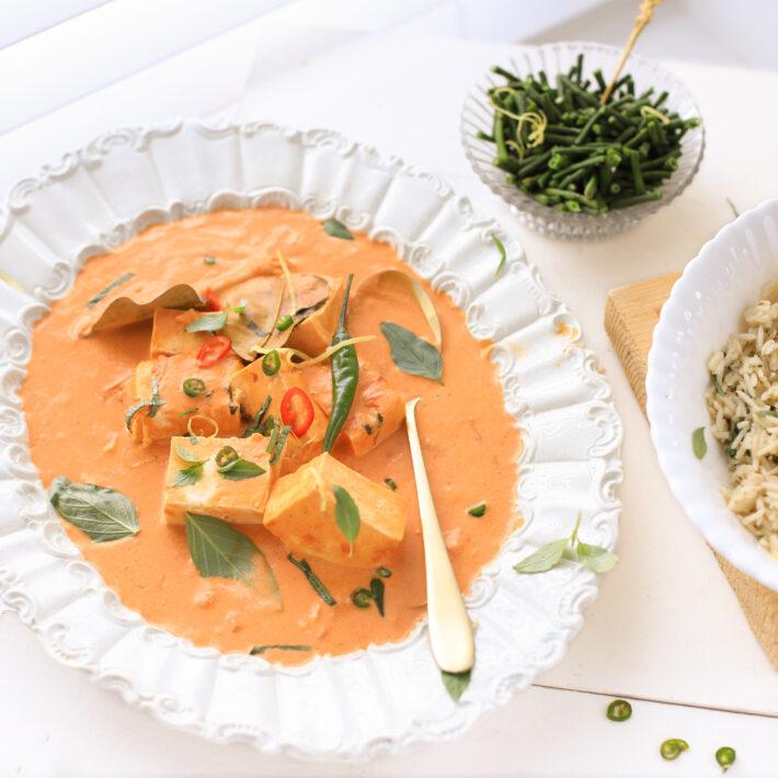 Panang Curry Met Tofu